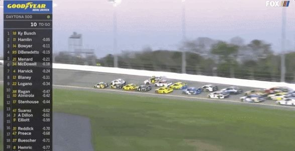 Massive Daytona 500 Crash Collects Half of the Field