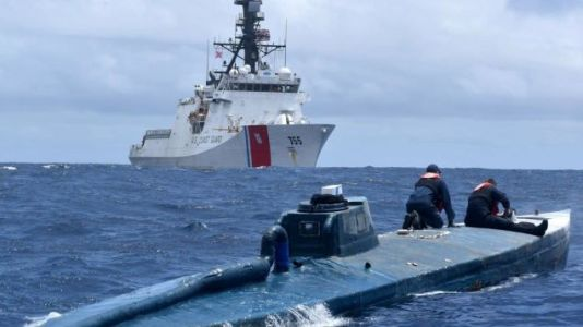 The US Coast Guard Caught This Cocaine-Smuggling Semi-Submersible
