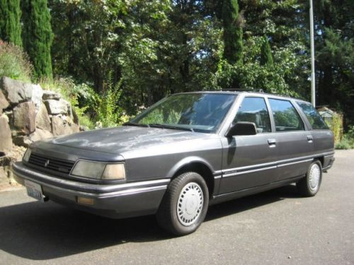 At $1,500, Could This 1988 Renault Medallion Wagon be Your Gallic Grocery Getter?