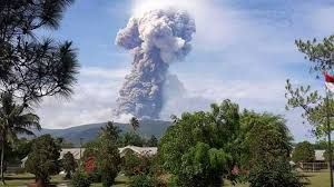 Indonesia's Mount Soputan volcano erupts, spewing thick ash 7.5 km high