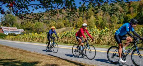 The Blackfoot Valley is all set to welcome its bicycle tourists