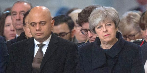 Theresa May refuses to back Javid's decision to allow death penalty for British jihadis
