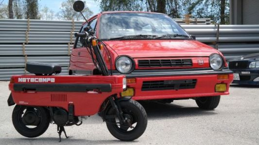 You Should Buy This Pristine 1985 Honda City R And Motocompo For $15,000 Right Now