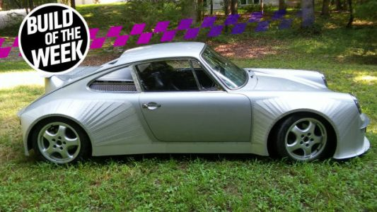 Forget Singer, You Want a Mid-Engine LS-Swapped Porsche Reimagined by a Redneck