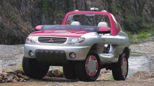 Amphibious Mitsubishis of the '80s and '90s Are Rad As Hell