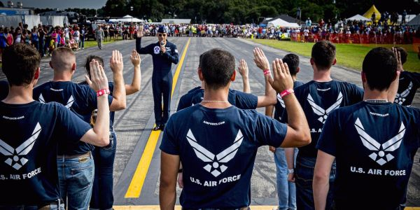 The Air Force Reserve kicks out recruit after racist video surfaces