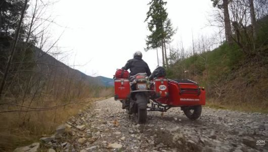 Adventure Riding With a Sidecar Brings its Own Set of Challenges