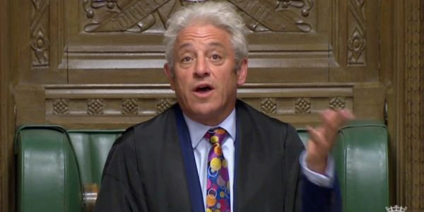 Boris Johnson's bid to pass vote on his Brexit deal blocked by Speaker John Bercow