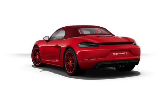 The Porsche 718 Boxster GTS Configurator Is Here For Your Most Depraved Design Combos