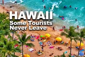 Hawaiian tourism seem to be declining in absolute terms