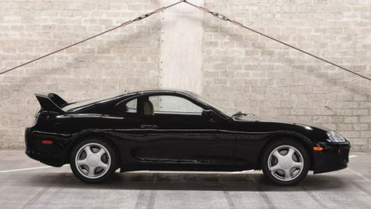 Somebody Just Paid $173,600 for This Stock 1994 Toyota Supra