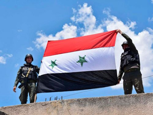 The Syrian government has taken control of Damascus from the Islamic State