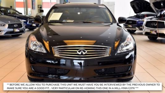 Only the Chosen Can Buy This Precious 2009 Infiniti G37x Coupe