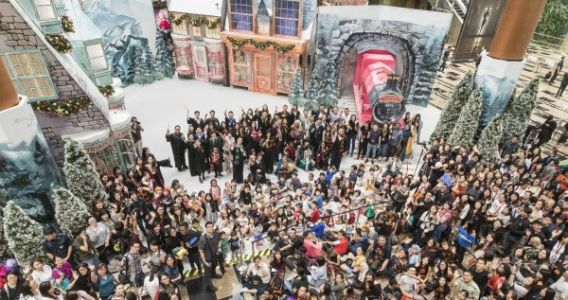 A Wizarding World Holiday at Changi Airport