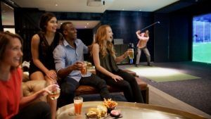 Four Seasons Hotel Houston Debuts New Games in Its Top golf Swing Suite