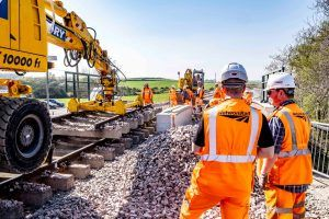 Easter Upgrades Delivered on-time for Scotland's Railway