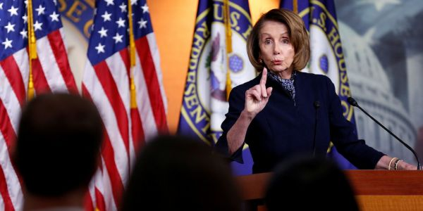 Nancy Pelosi reveals her endgame for negotiations with Trump: Democrats will give 'nothing for the wall'