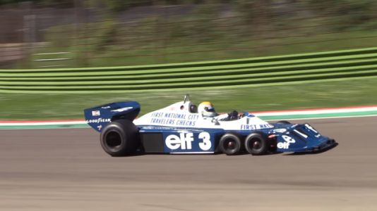 Spend Some Quality Time With The Tyrrell Six-Wheeler