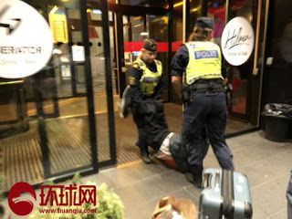 China urges Sweden to heed concern over tourists ejected from hotel