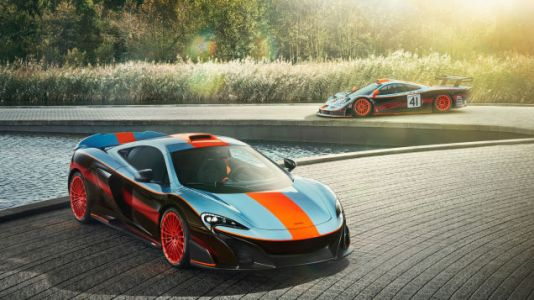 The McLaren 675LT Can Still Pull Off The Famous Gulf Livery