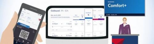 Delta extends branded fares to boarding order, launches color palette to tie it all together