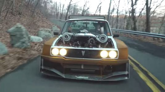I Am Dumbfounded by the Absurdity of This 1,000 HP Toyota Hilux Rat Rod
