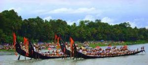 Kerala Tourism celebrating New Year with dragon boat race