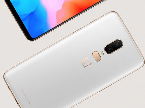The limited-edition 'silk white' OnePlus 6 is available starting June 5 for $579 - here's where to buy it