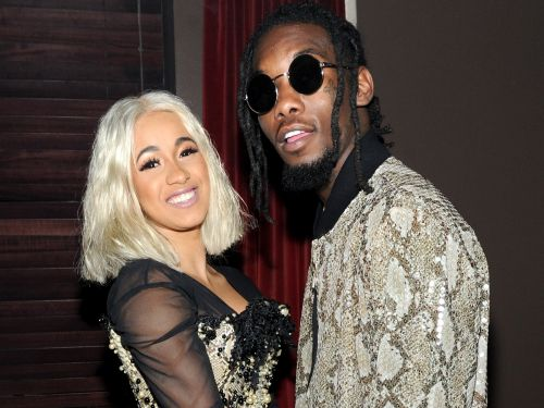 Cardi B threw an elaborate baby shower that took 40 people and 2 days to set up - and the photos are jaw-dropping