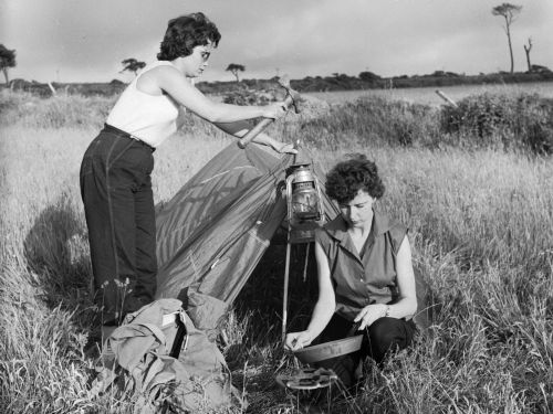 30 vintage photos of people camping show how different it used to be - and it'll make you long for the simpler days