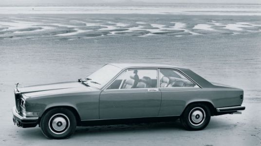 I couldn't possibly be bothered with something as mundane as a Rolls-Royce Corniche