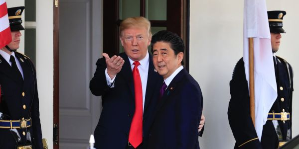 Trump reportedly told Japan's prime minister he'd send him 25 million Mexicans