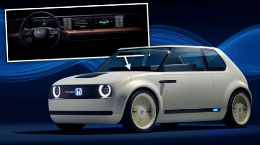 The Interior Of Honda's Retro EV Is All Screens