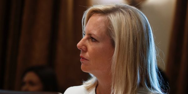Immigrant mothers were reportedly whisked out of sight when the Homeland Security secretary made a secretive trip to a detention facility