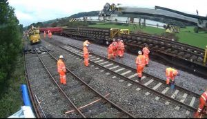 Rail Services Resume As Multimillion-Pound Project To Railway In Derbyshire Successfully Completed