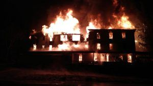 Fire breaks out in a New Hampshire hotel
