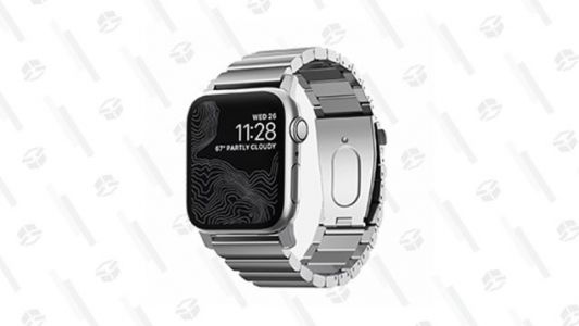 For Today Only, You Can Get 50% off a Stainless Steel Apple Watch Band From Nomad