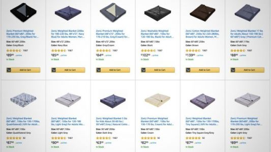 Bury Yourself Under a Bundle of Weighted Blanket Deals, All the Way Up To 30 Pounds