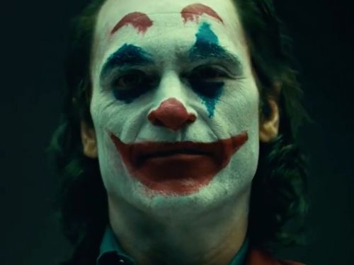 The 'Joker' origin movie teases first look at Joaquin Phoenix in clown makeup