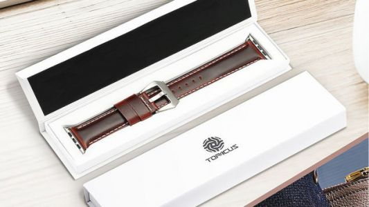 Class Up Your Wrist With These $6 Genuine Leather Apple Watch Straps