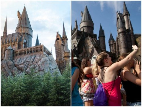 Disappointing photos show what the Harry Potter theme park looks like in real life