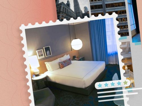 The historic Kimpton Gray is our top pick for business travelers in Chicago with modern rooms, 3 dining options, and a location in the heart of the financial district