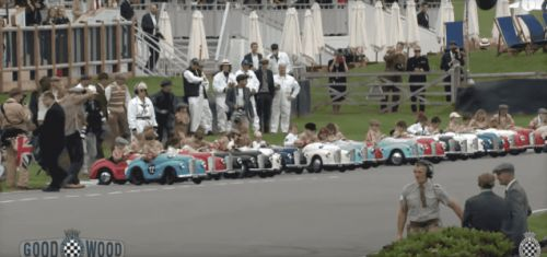 The Settrington Cup is Probably the Most Adorable Part of the Goodwood Revival