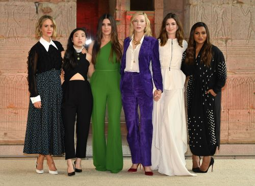 Anne Hathaway's 'Ocean's 8' co-stars paused filming so she could pump breast milk - and we are here for it