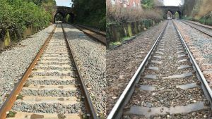 Track Upgrade Means Faster and Reliable Journeys for Passengers on the Mid-Cheshire Line