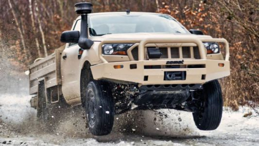 The New Ford Ranger and Everest Look Absolutely Badass as Military Vehicles
