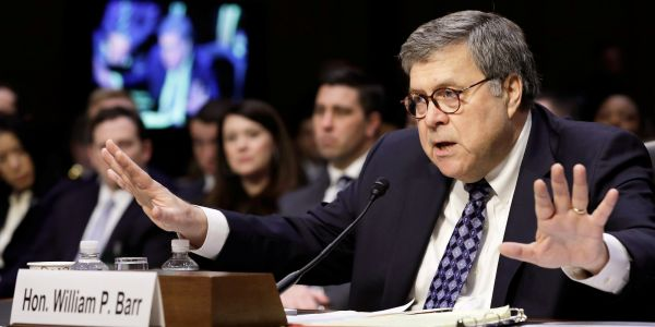 It looks like Trump's attorney general nominee, William Barr, is about to be confirmed by the Senate