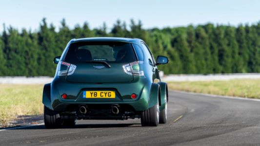 The Aston Martin V8 Cygnet Is as Hilarious to Drive as It Is to Look At