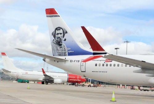 Norwegian Increases Transatlantic Flights to Ireland from North America by over