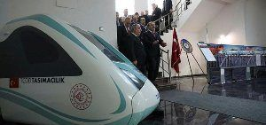 Turkey's first indigenous electric train set to be tested in May